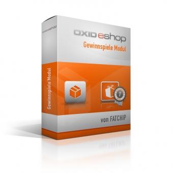 OXID Plugin Gewinnspiele