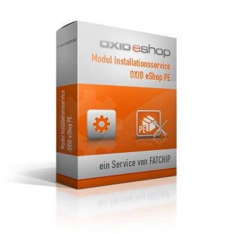 Plugin Installationsservice OXID eShop PE