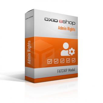 OXID Plugin Admin Rights