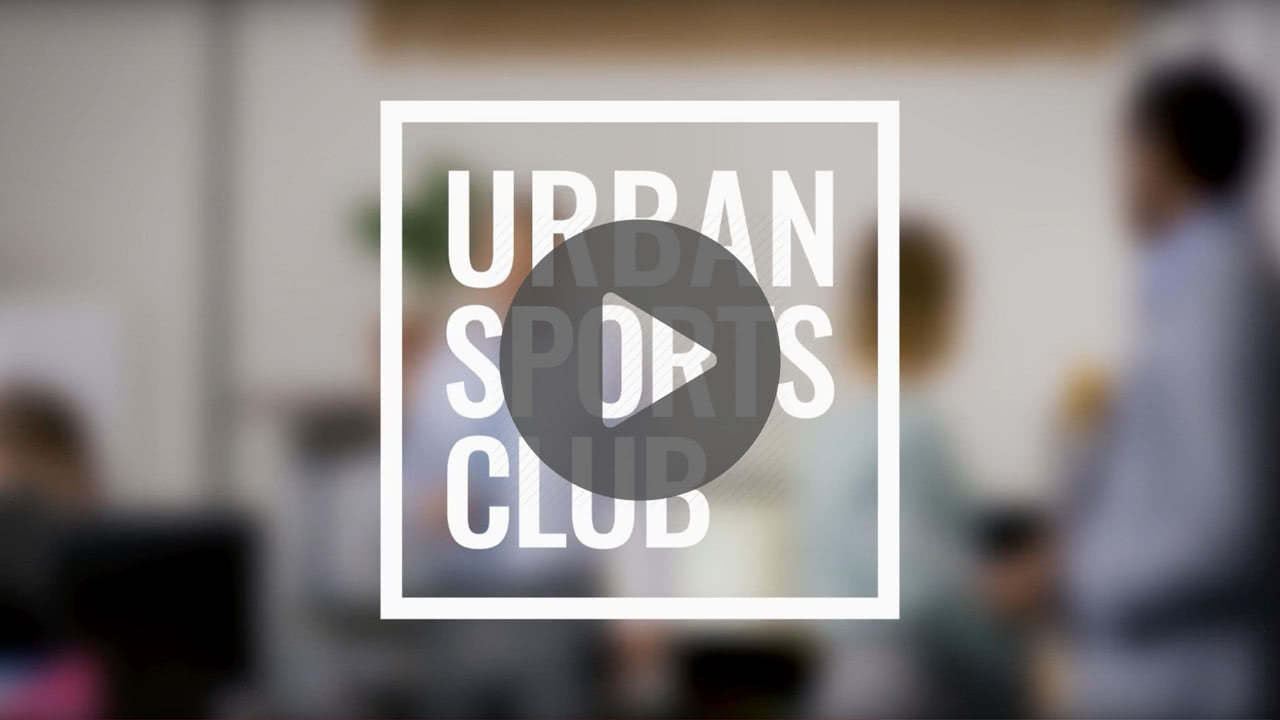 Company sports in cooperation with the Urban Sports Club